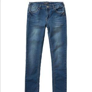 Girls Silver jeans